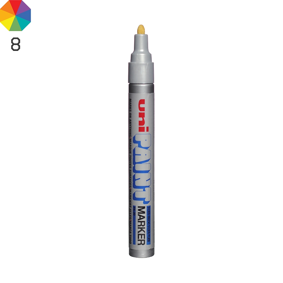 Uni paint px 20 marker highlights for Uni paint marker