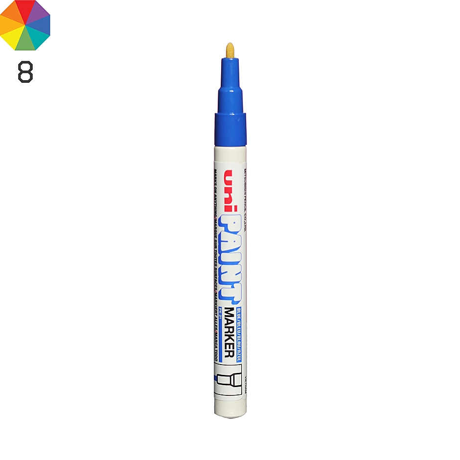 Uni paint px 21 marker highlights for Uni paint marker